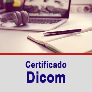 Certificado Dicom 2020