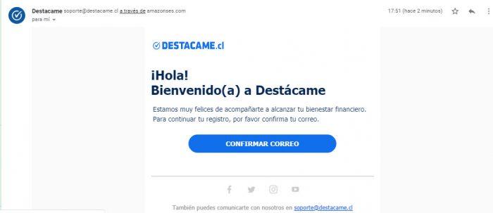 verificación destacatme.cl